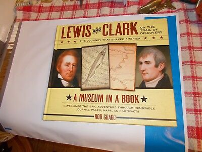 Museum in a Book: Lewis and Clark on the Trail of Discovery-BRAND  NEW  HC