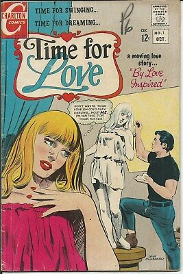 Nr! Romance For Sale! Time For Love No. 1 (1967) In Very Good+ Condition