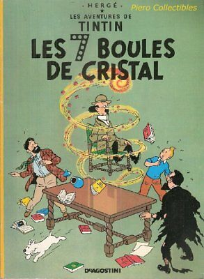 Tin tin Les 7 Boules of Crystal Balloon de Agostini 1990