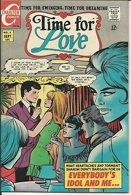Nr! Romance For Sale! Time For Love No. 6 (1968) In Very Fine Condition