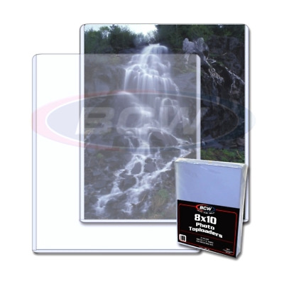 BCW Topload Holders -- Photo (8 x 10) -- Pack of 25