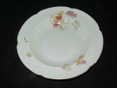 Antique Replacement China Wide Rimmed Bowl George Jones & Sons Crescent 1890s