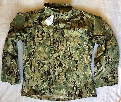 Nwt U.s. Usn Navy Nwu Type Iii Navy Working Uniform Blouse  : Size Medium Short