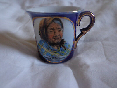RARE Seattle Alaska Yukon Pacific Expo 1909 Chief's Daughter Cup DRESDEN Indian