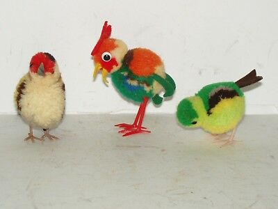 Vintage Easter Rooster And Chicks