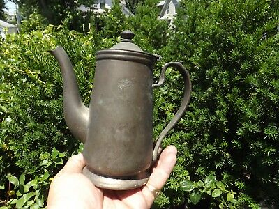 Large Antique Coffee Pot From Plaza Hotel Nyc By Brand Silver Company