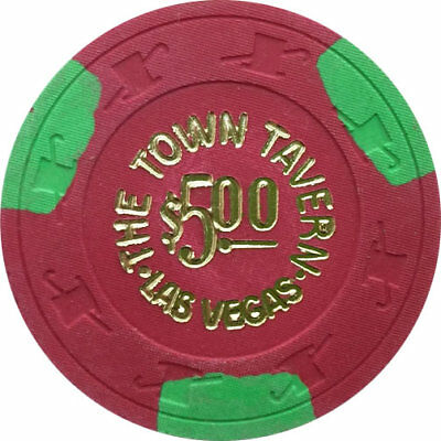 $5 Town Tavern Las Vegas Casino Chip
