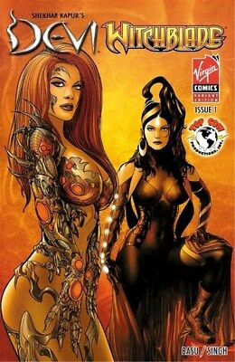 Devi/Witchblade (2008) One-Shot (Mukesh Singh Variant)