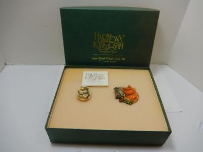 1999 Harmony Kingdom Royal Watch Collector Club Year Of The Garden Kit