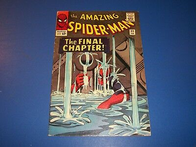 Amazing Spider-man #33 Silver Age Fine Beauty Wow