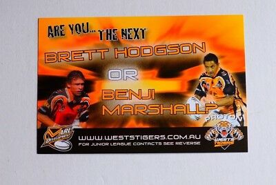 Are You The Next Brett Hodgson Or Benji Marshall?  Post Card