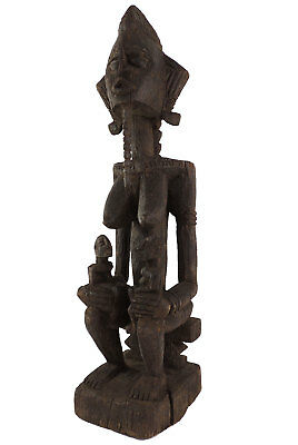 Dogon Maternity Figure with Children Mali African Art 26 Inch SALE WAS $250.00