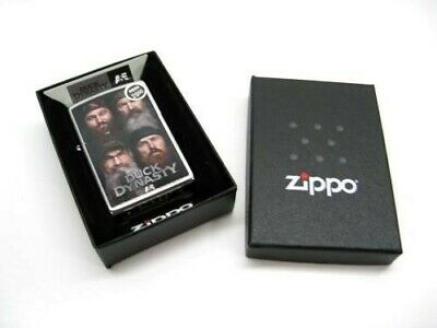 Zippo Full Size Duck Dynasty Robertson Family Members Windproof Lighter 28881