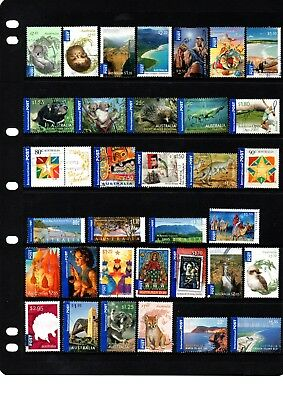 Australian International Post Stamps - High Value  - 34 Different - Lot 335.