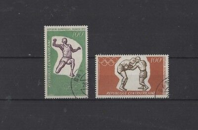 Central African Republic 'olympic Games.munich' 1972, Sg275/76, Used