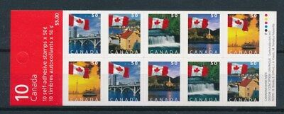 [97936] Canada good complete booklet Very Fine Adhesive