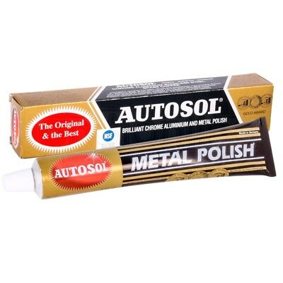 Autosol Original Solvol Chrome Metal Aluminium Motorcycle Cleaner Polish Car75ml