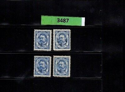 3487 Luxembourg - G.D. Guillaume Wilhelm MNH stamps 25 Cents incl. SIGNED