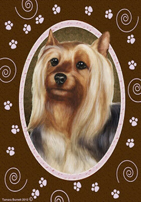 Garden Indoor/Outdoor Paws Flag - Silky Terrier 171021