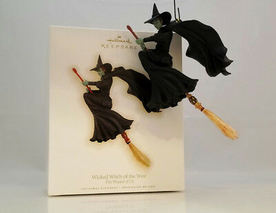 Hallmark Ornament 2009 Wicked Witch of the West - The Wizard of Oz - #QXI1122