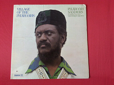 PHAROAH SANDERS – Village Of The Pharoahs -- LP USA 1973 IMPULSE COLTRANE