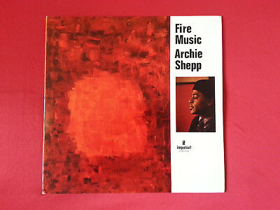 ARCHIE SHEPP – Fire Music -- LP USA 1975 IMPULSE COLTRANE