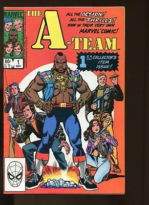 The A-Team #1-3 Very Good Complete Set 1984 Marvel Comics