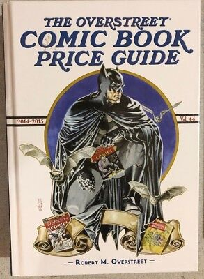 2014-2015 OVERSTREET COMIC BOOK PRICE GUIDE #44 hardcover BATMAN cover