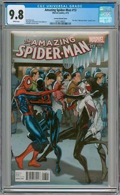 Amazing Spider-Man #13 Welcome Home Star Wars Variant Cgc 9.8 Marvel Comics