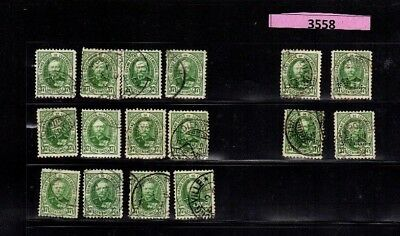 3558 Luxembourg - G.D. Adolf Adolphe USED stamps 37.5 Cents incl. PERFIN