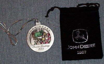 John Deere Christmas Ornament 2007 No.12 in Series