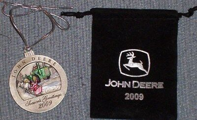 John Deere Christmas Ornament 2009 No.14 in Series