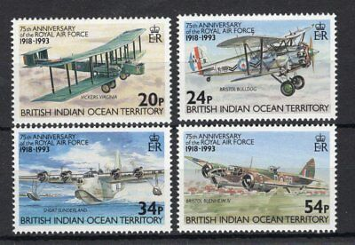 British Indian Ocean Territory 1993 Royal Air Force Anniversary set UM (MNH)