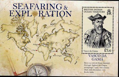 British Indian Ocean Territory 2009 Vasco da Gama sheet UM (MNH)
