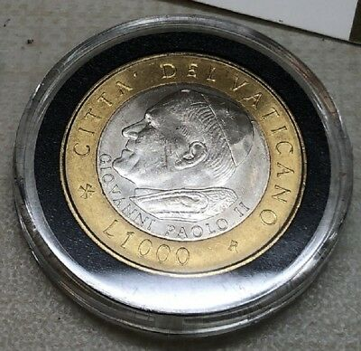 2003 Pope John Paul Ii 1,000 Lire Coin