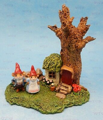GNOME SWEET GNOME by Wee Forest Folk, M-393x Mouse Expo 2018 Event Piece