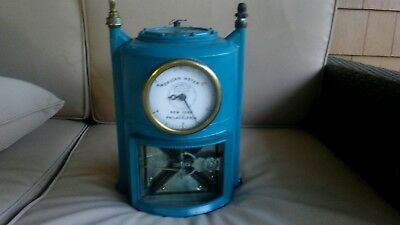 Vintage gas meter made by the American Gas Meter Co.
