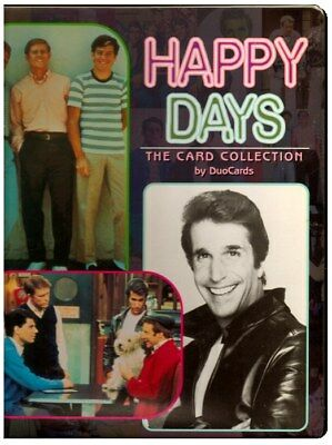 1998 Happy Days Binder ***free Shipping  In Us***