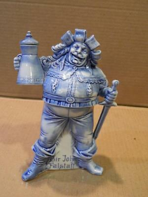 Schafer & Vater Sir John Falstaff Whiskey Nip Decanter Antique