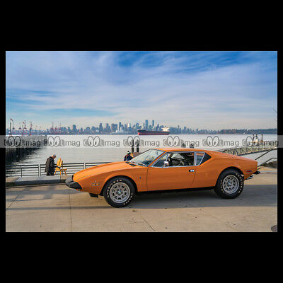 #pha.008692 Photo DE TOMASO PANTERA L 1972-1974 Car Auto