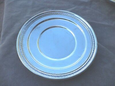 "Vintage Dominick & Haff Sterling Silver 9"" Tray  216 Grams"
