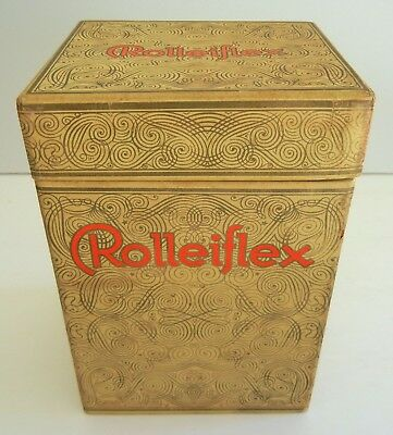 Vtg 1930s-40s ROLLEIFLEX Medium Format TLR Twin Lens Reflex CAMERA BOX Only NICE