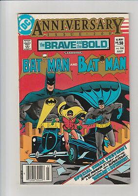 The Brave and the Bold #200 (Jul 1983, DC) F 1st Batman and Outsiders 1st Katana
