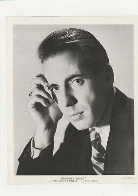 "Humphry Bogart 1930's Vintage Movie Still ""The Great O'Malley"" 8x10 Warner"