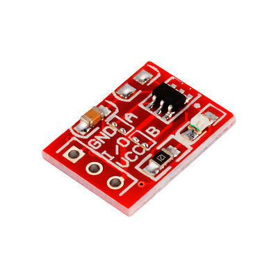 10Pcs TTP223 Touch Switch Button Self-Lock Capacitive Module DIY MW Radar TE929