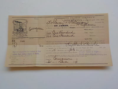 Ship Document 1904 Steamboat St. James Mississippi Packet Company New Orleans