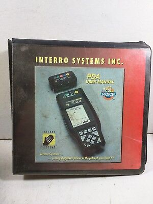 Interro Systems PDA 2000 Automotive User Manual