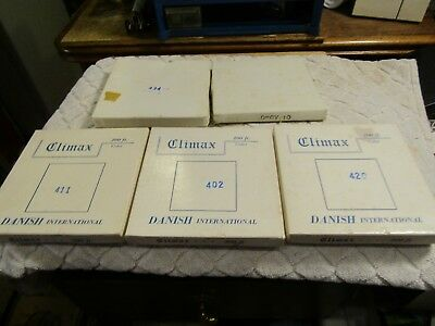 """Vintage 8MM Climax Danish International Stag Flims Adult Movies 5"""" Lot 5 1970s"""