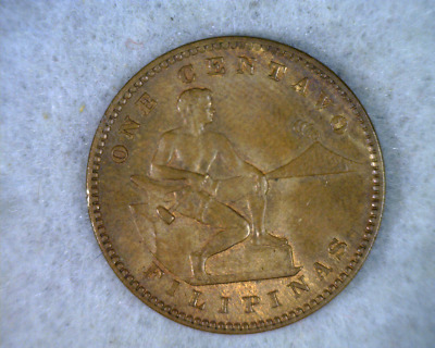 PHILIPPINES CENTAVO 1909 UNCIRCULATED US COIN  (stock# 0154 )
