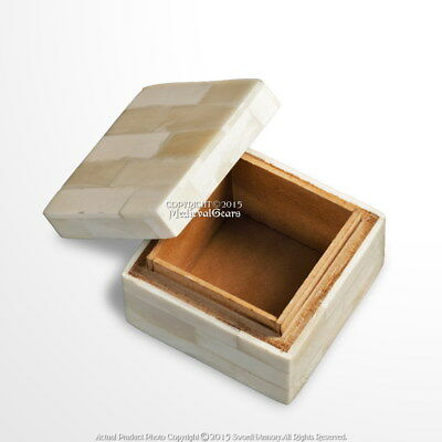 Handmade Medieval Renaissance Decoration Small Jewelry Trinket Box Camel Bone
